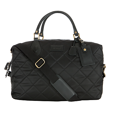 Barbour Quilted Explorer Holdall, Black