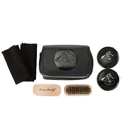 Ted Baker Shoe Shine Kit, Black