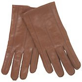John Lewis Men Cashmere Lined Gloves, Tan