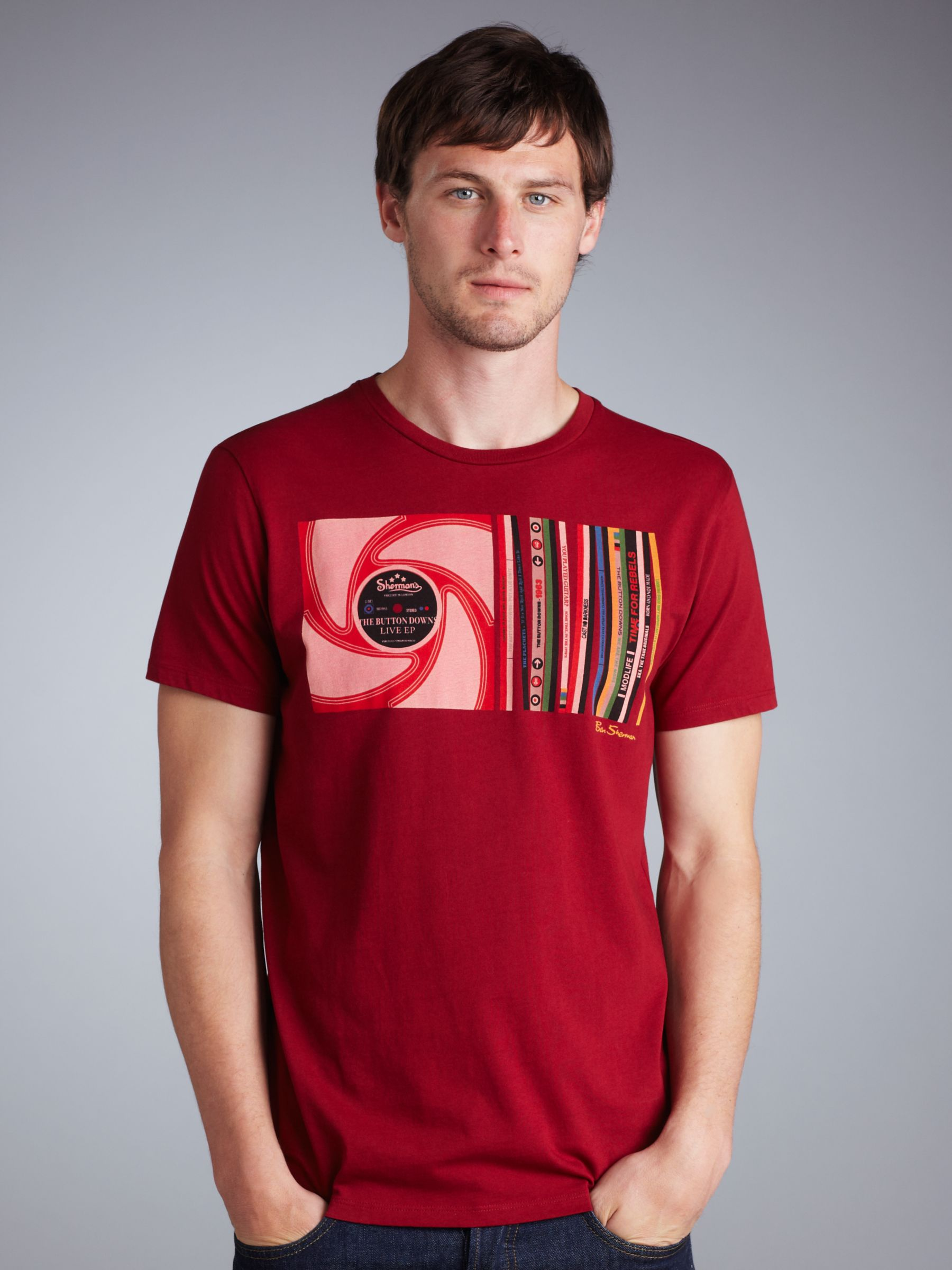 CD T-Shirt, Red