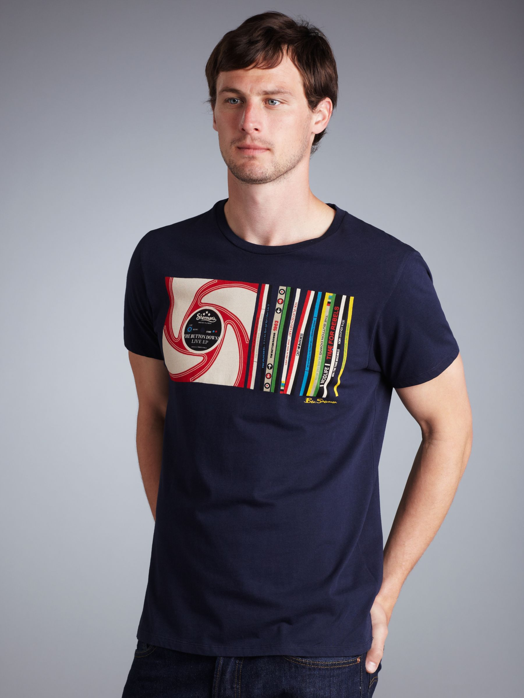 CD T-Shirt, Navy