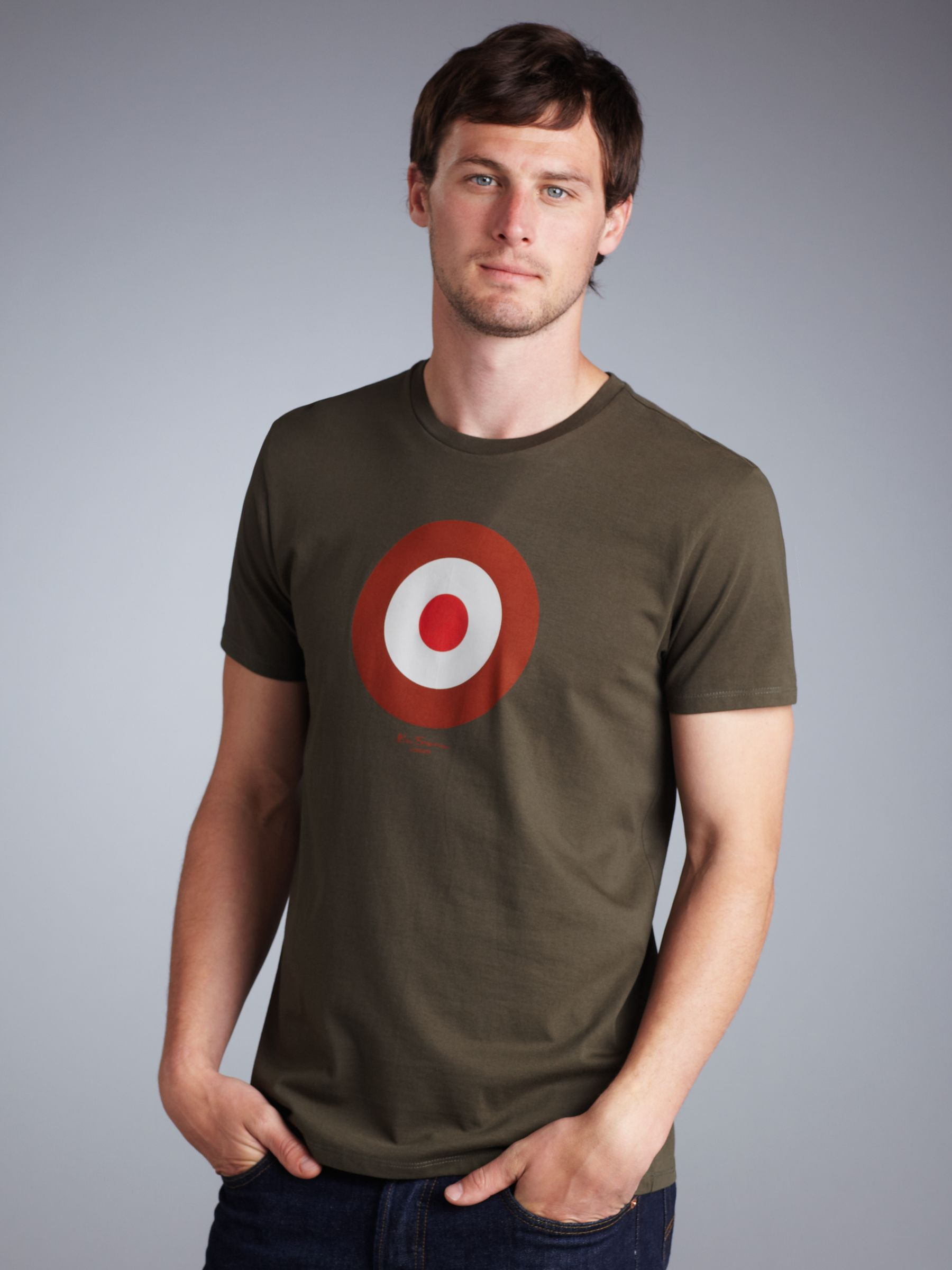 Target Print T-Shirt, Green