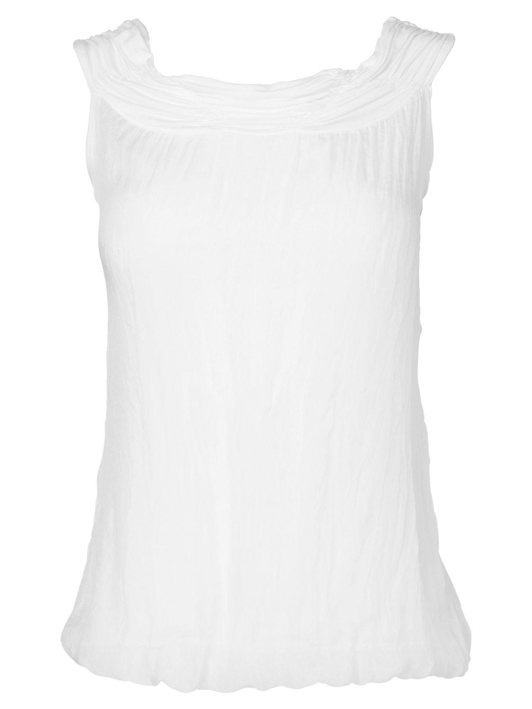 Phase Eight Sleeveless Gypsy Blouse, White product image