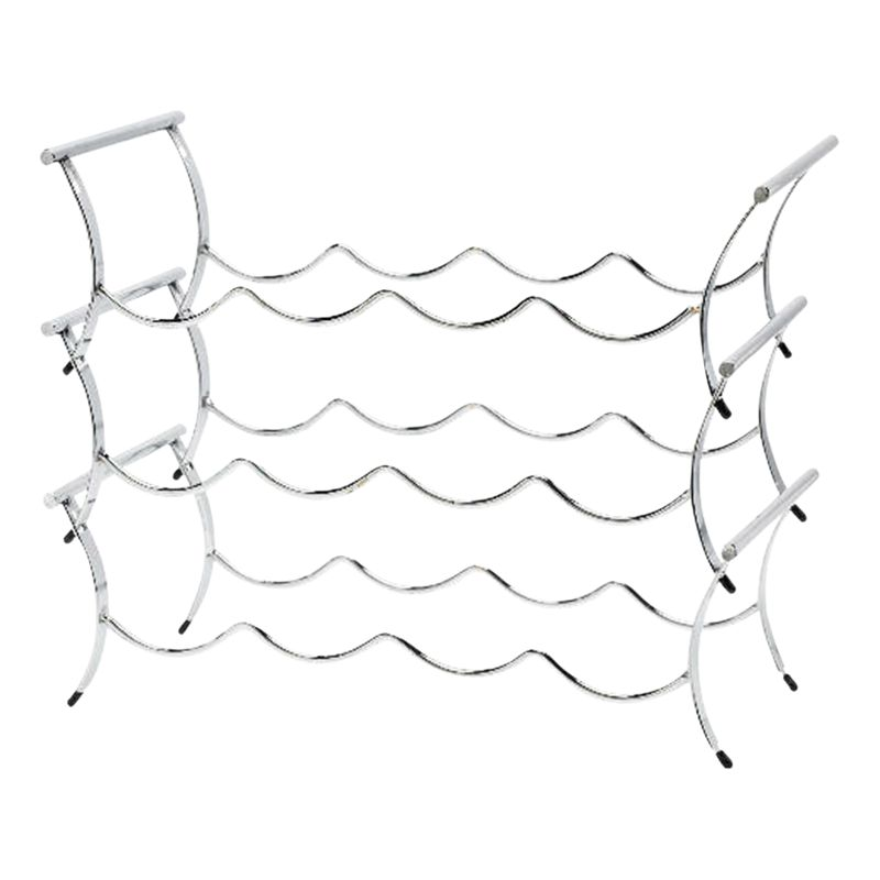 Winestak 12 Bottle Wine Rack, Chrome