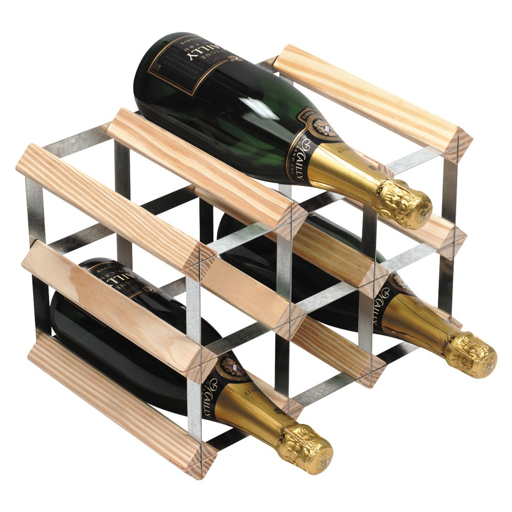 Rta Winestak 9 Bottle Wine Rack Pine Wood And Review