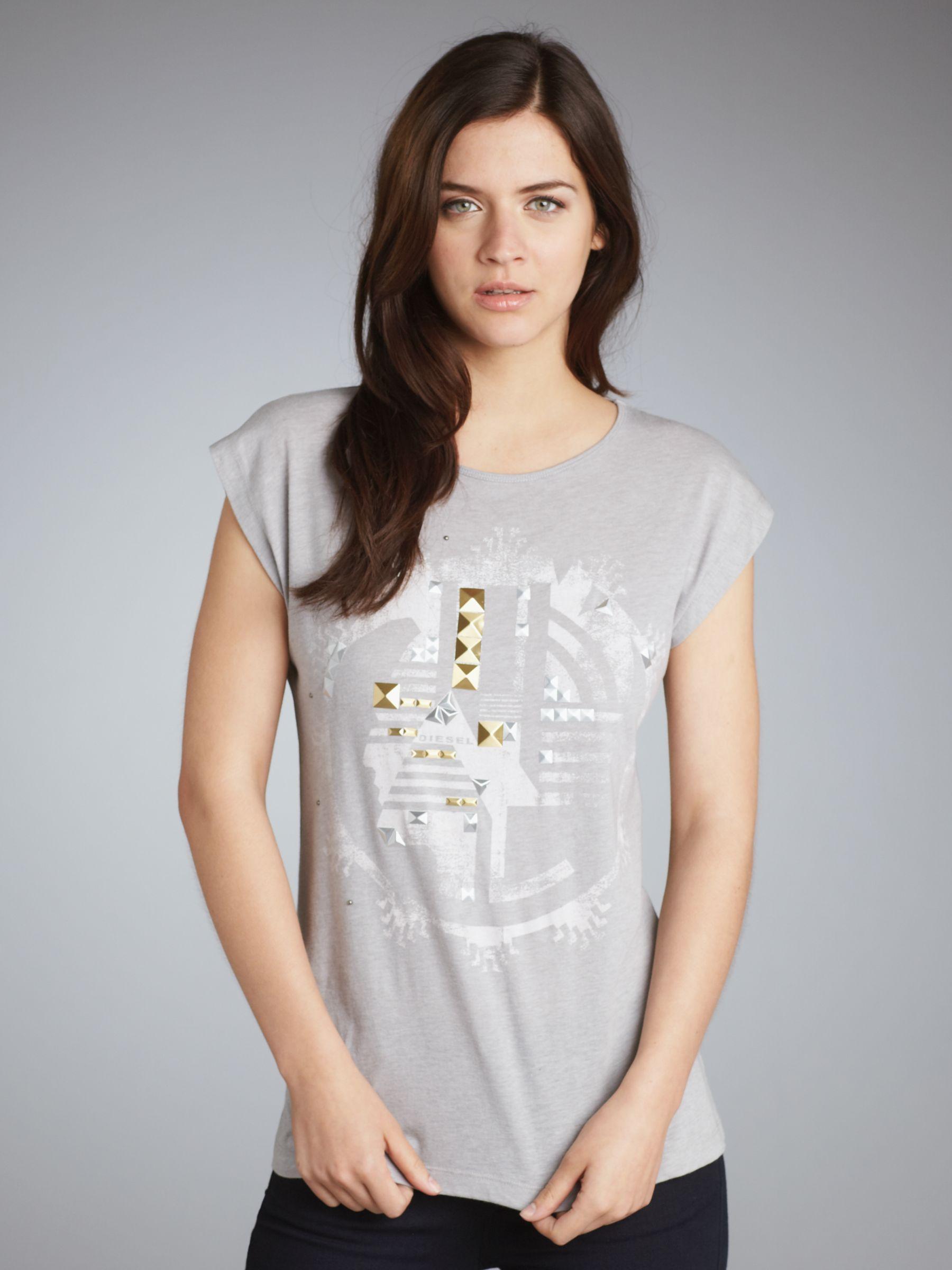 Tarmu Printed T-shirt, Grey