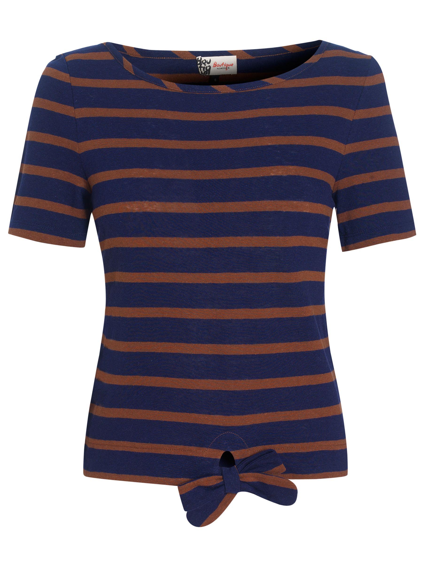 Stripe Knot T-Shirt, Navy