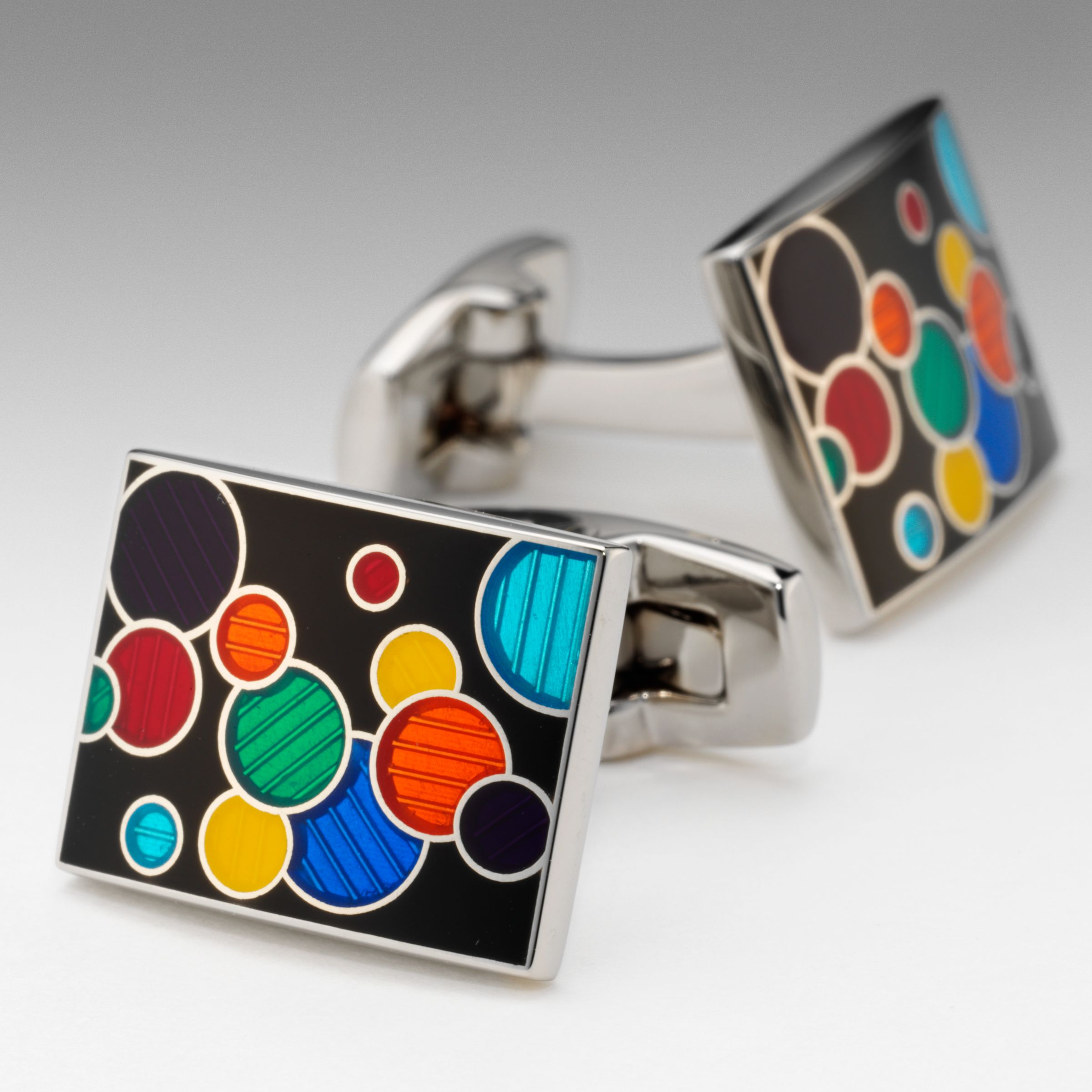 Carnival Dot Cufflinks, Multi