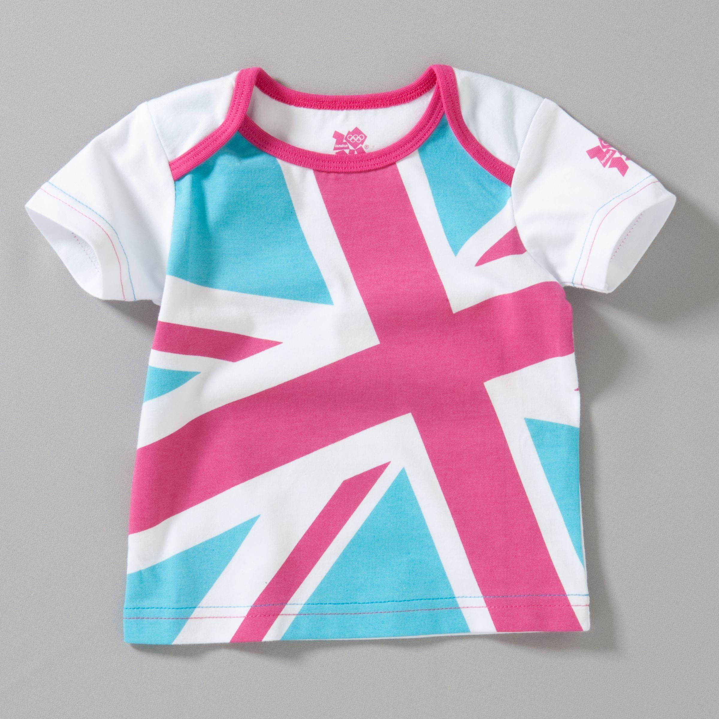 Union Jack T-Shirt, Pink