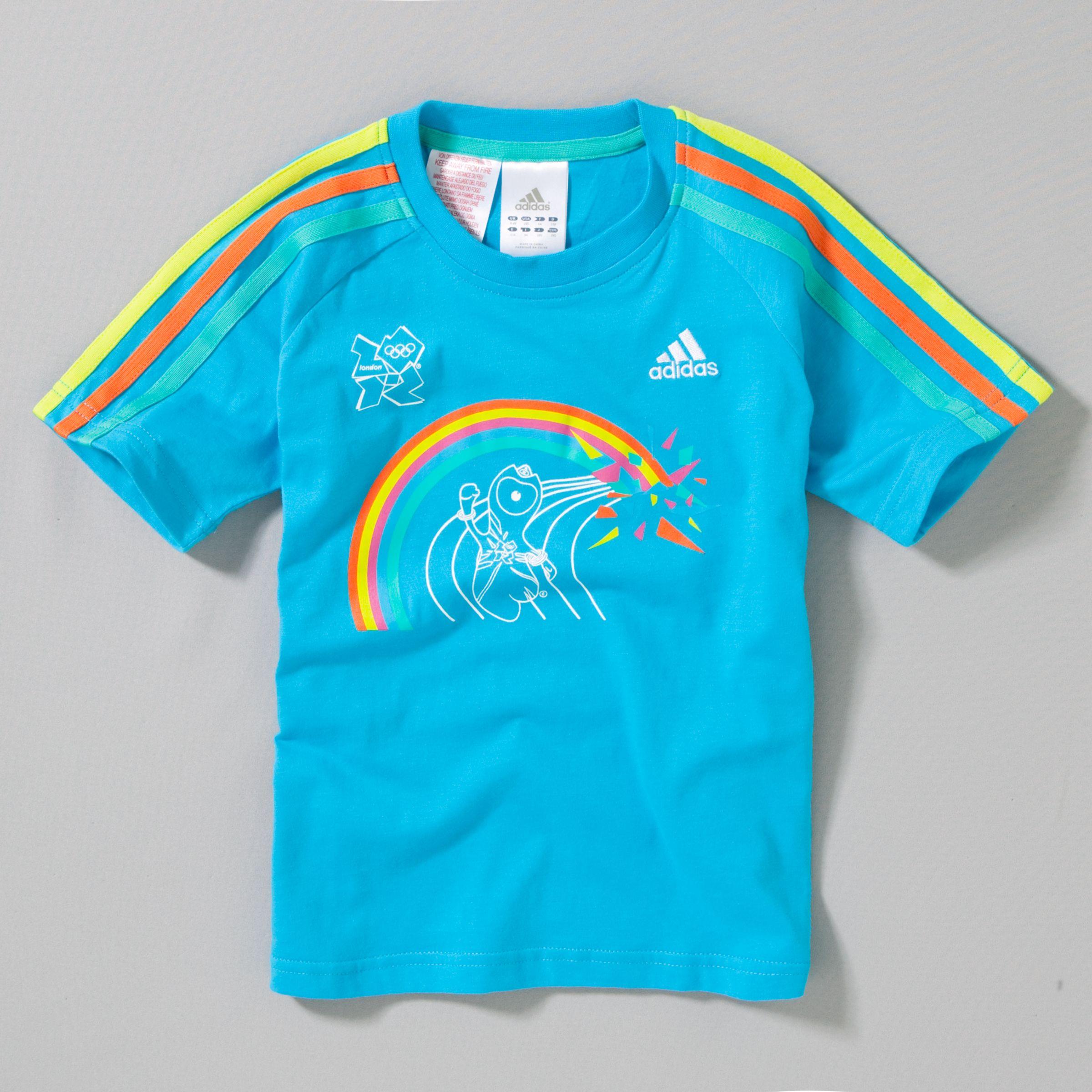 London 2012 Wenlock Rainbow T-Shirt, Pure