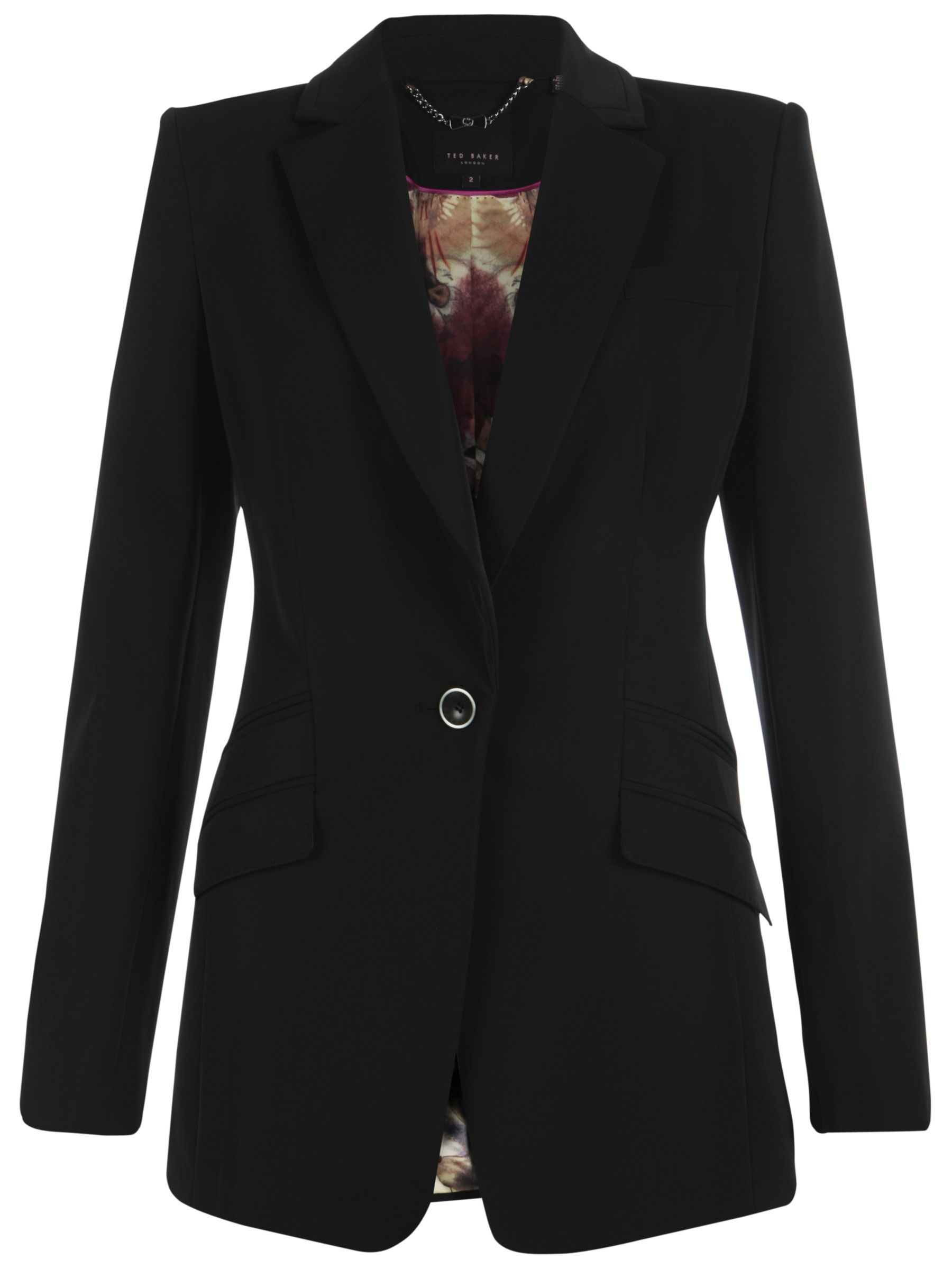 Ted Baker Technical Stretch Blazer, Black