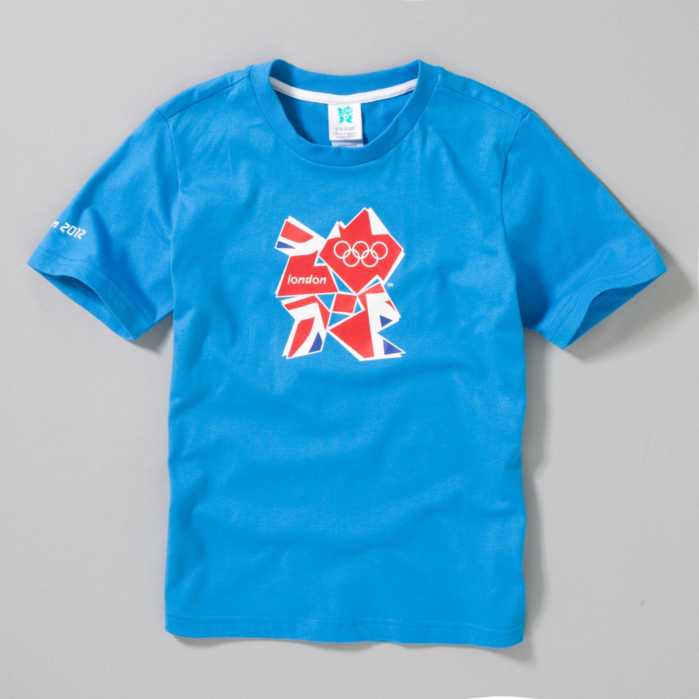 Union Jack T-Shirt, Pool Blue
