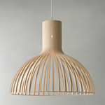 Secto Victo Ceiling Light, Birch