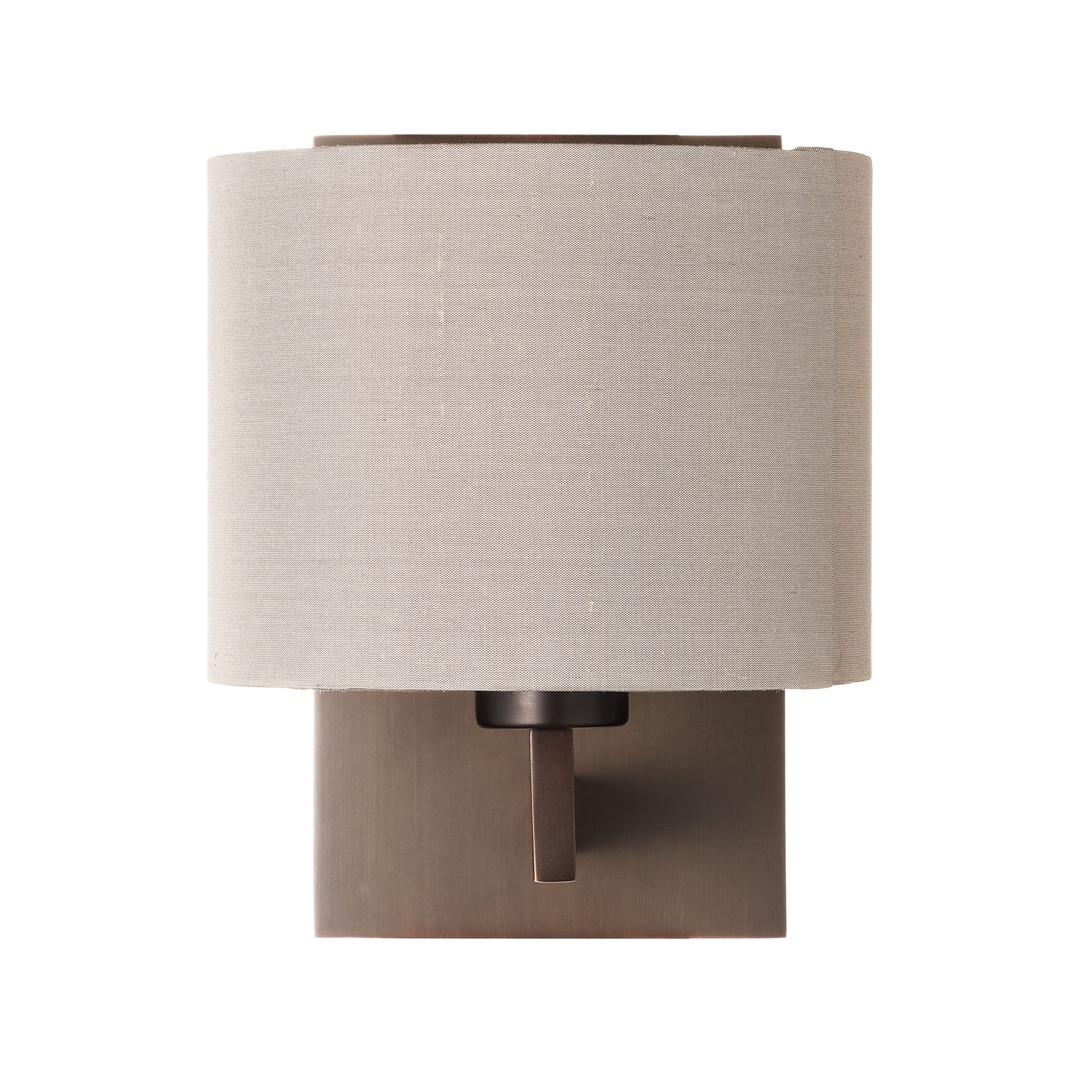 John Lewis Wall Lamp Shades : John Lewis Olan Wall Light, Bronze/Oyster - review, compare prices, buy online