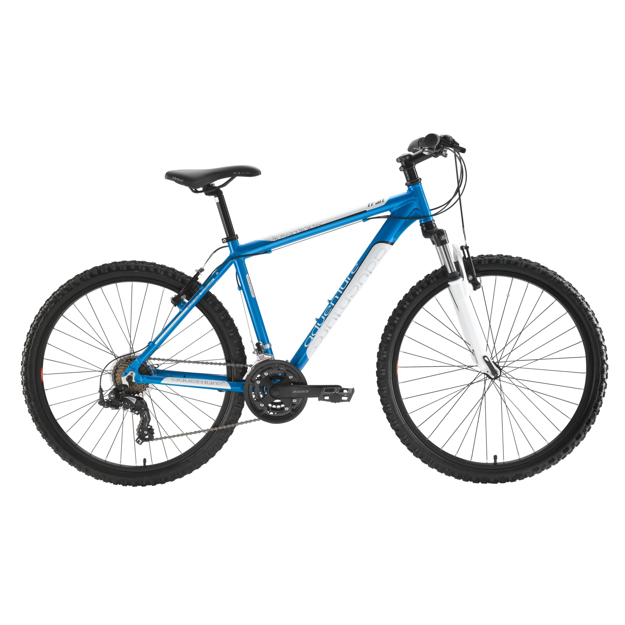 Adventure Trail Mens Bike, Blue