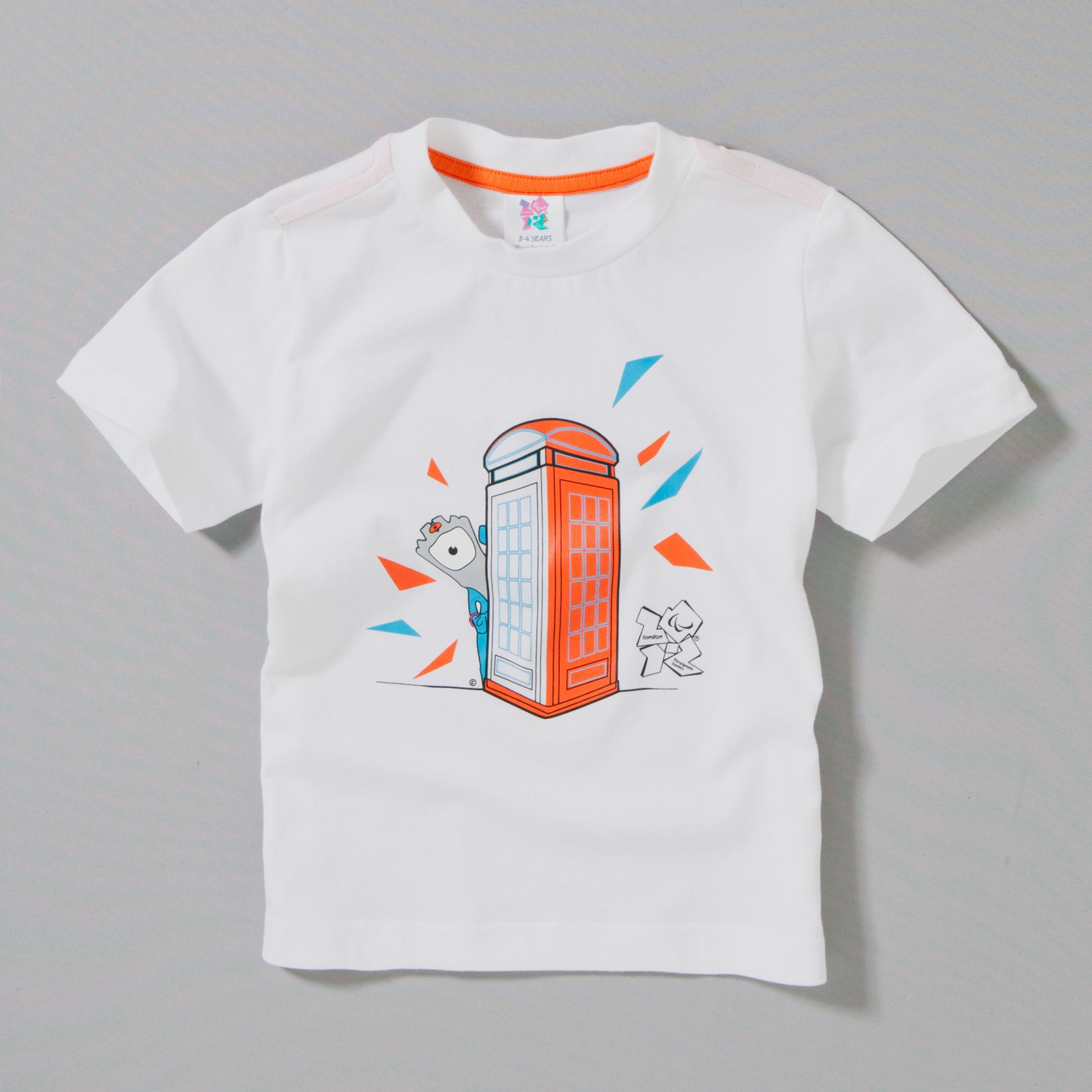 Wenlock T-Shirt, White