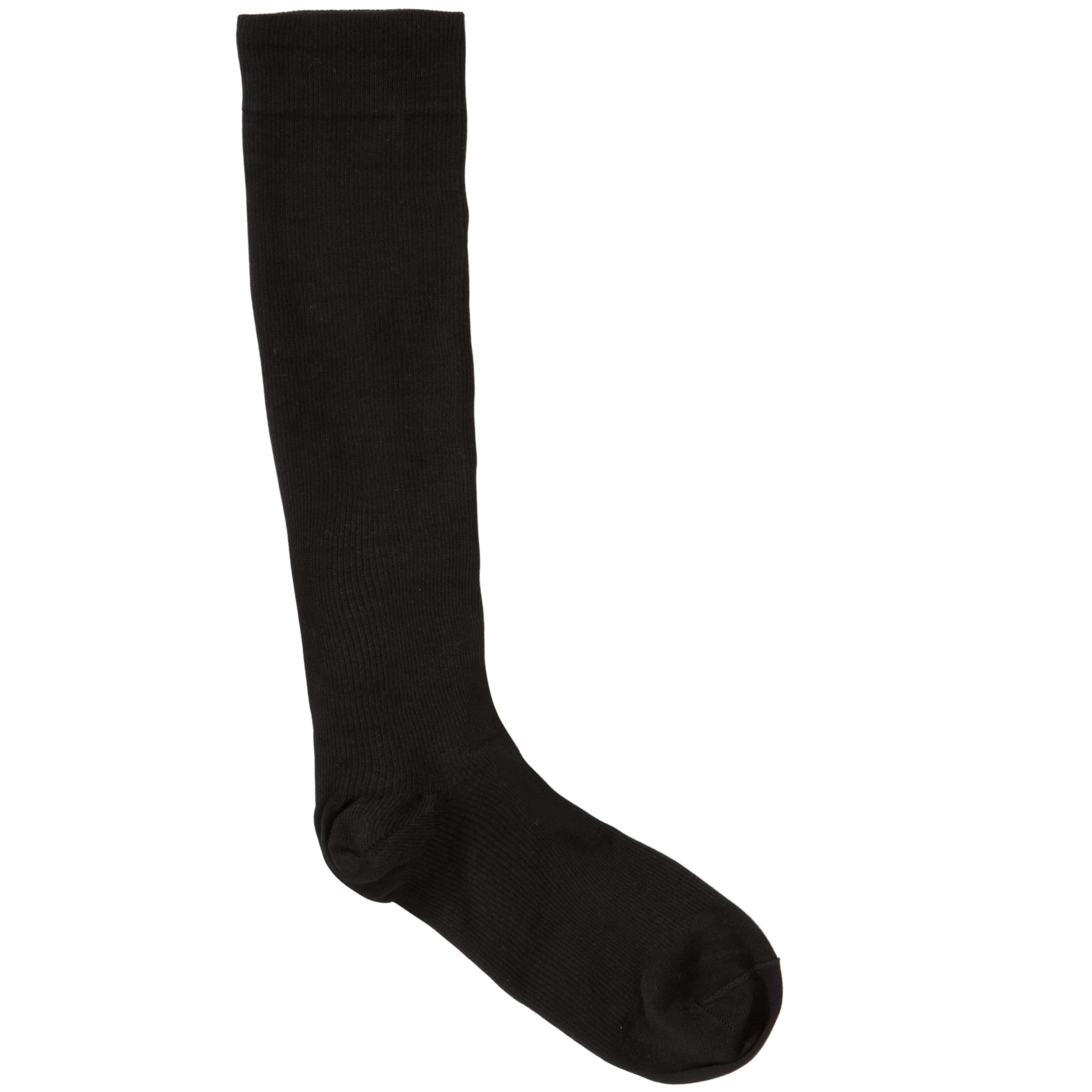 HJ Hall Flysafe Calf High Compression Socks, Black