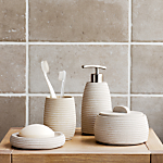 John Lewis Mint Sandstone Bathroom Accessories Range