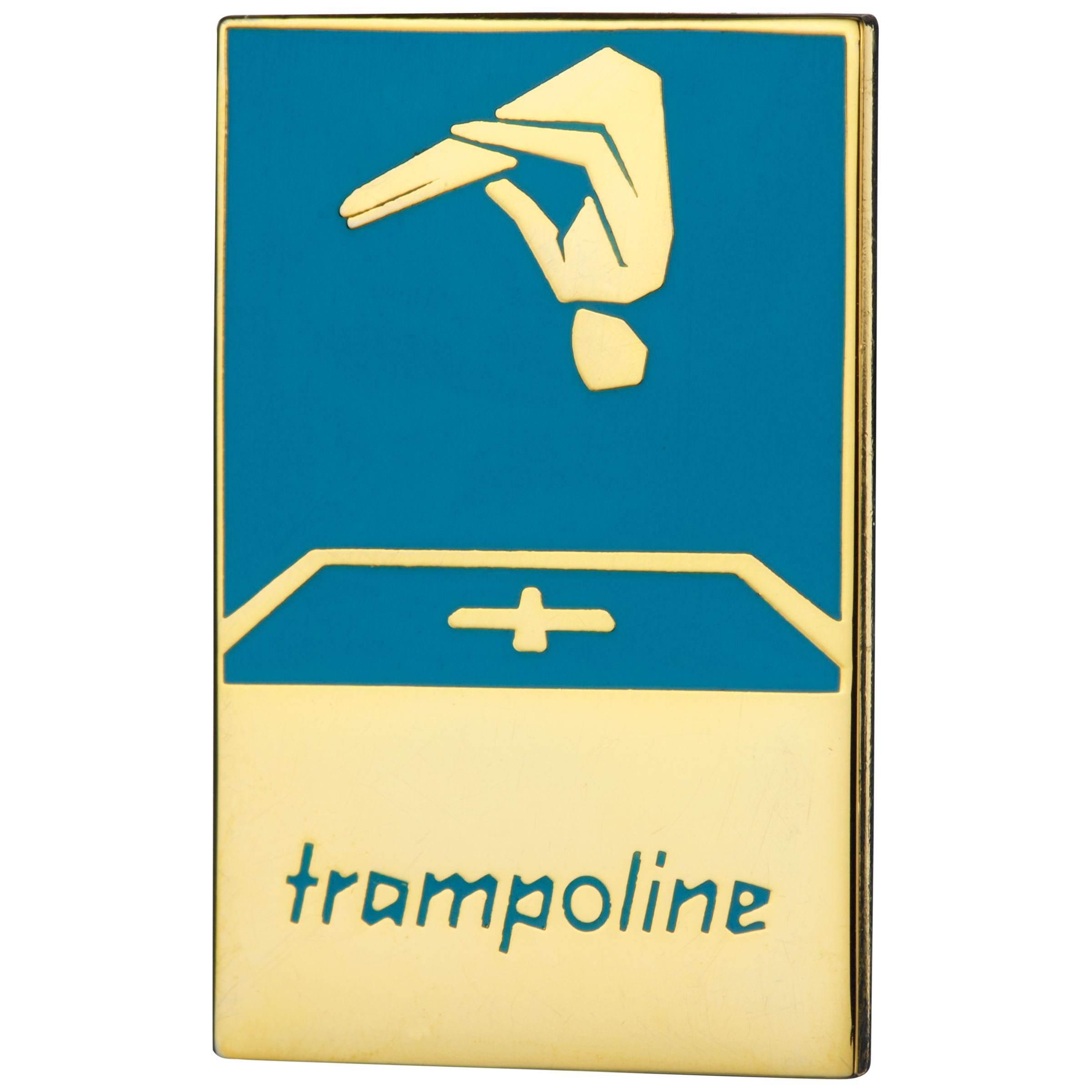 London 2012 Olympic Games Pin Badge, Trampoline