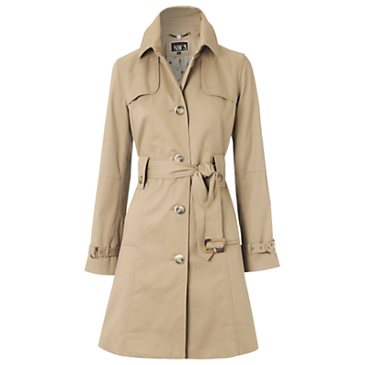 NW3 Willow Road Mac Coat, Mushroom