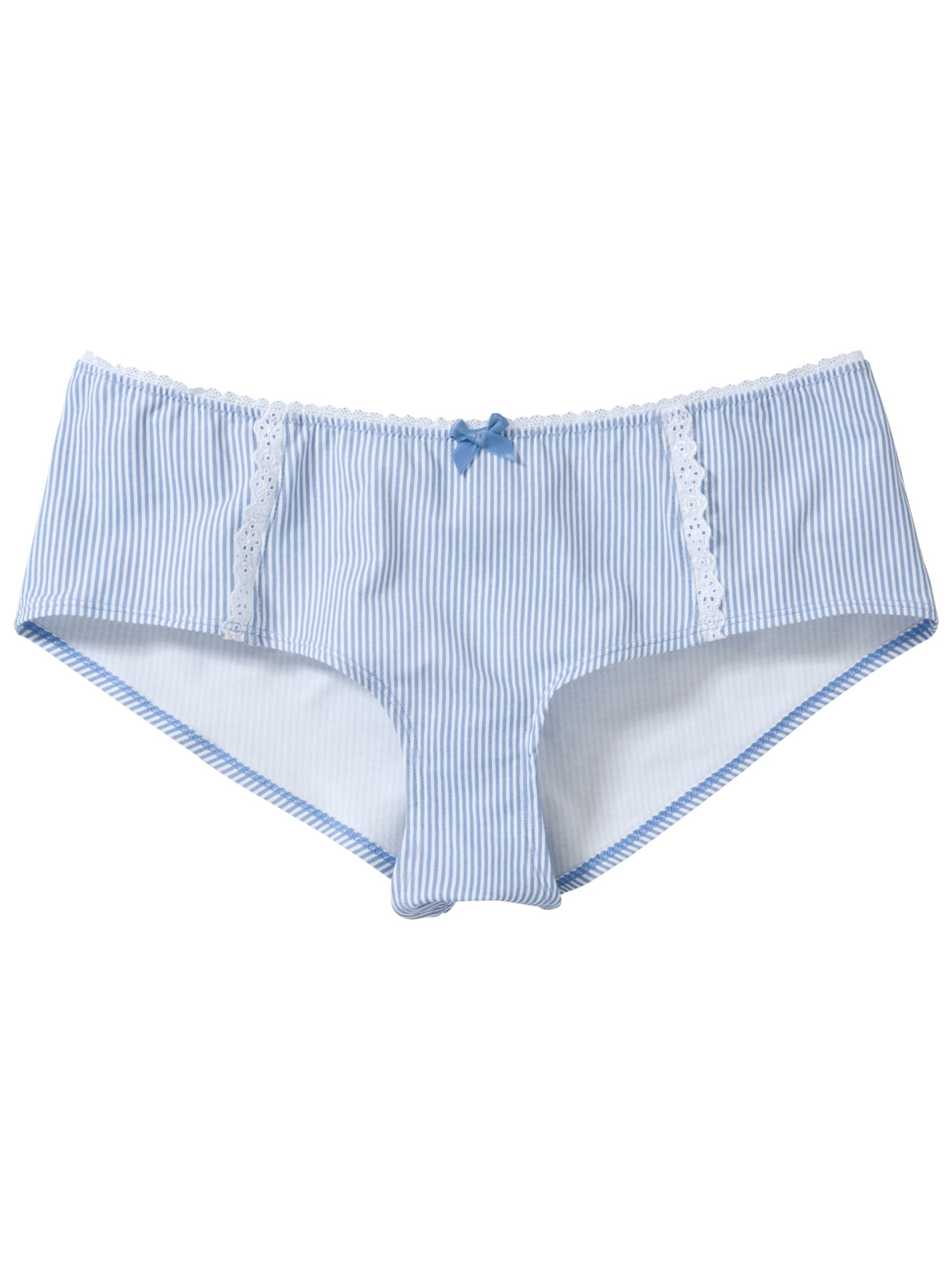 John Lewis Pixie Teen Shorts, Blue/White