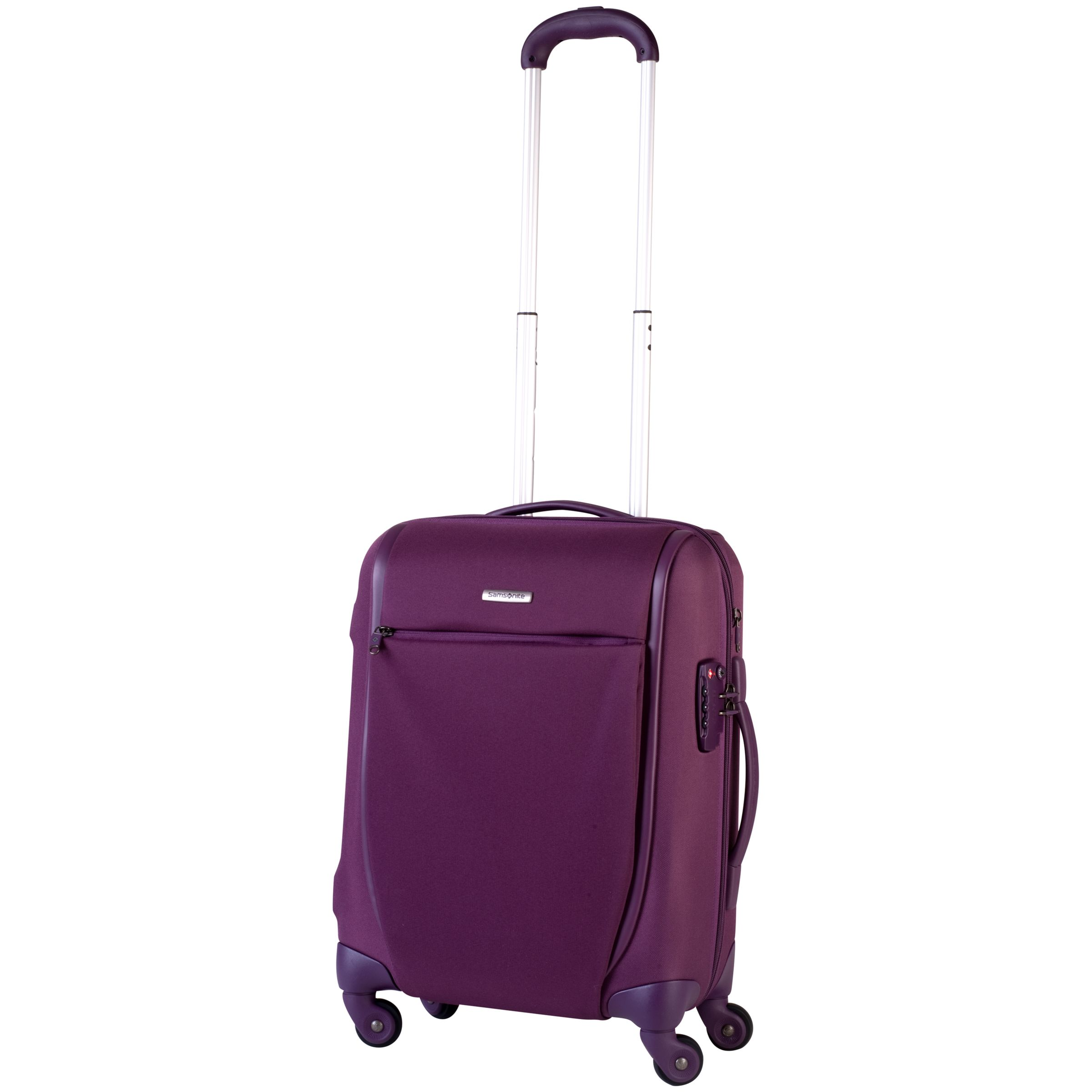 Samsonite Sahora Regeneration Spinner Suitcase, Plum, Small