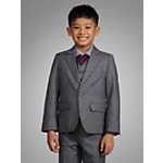 John Lewis Boy Shark Skin Jacket, Grey £35-38