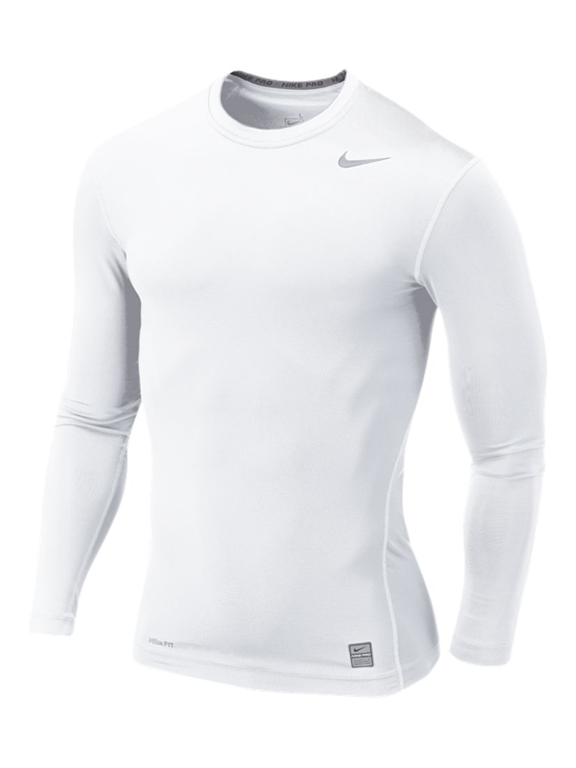 Nike Pro Combat Compression T-Shirt, White