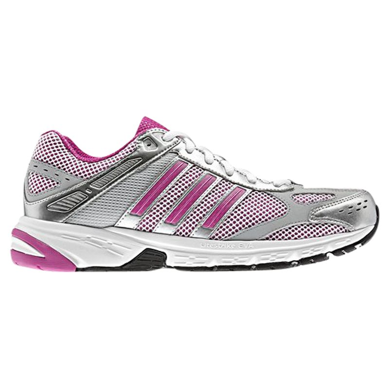 Adidas Duramo 4 Women's Running Shoes, White/Intense Pink