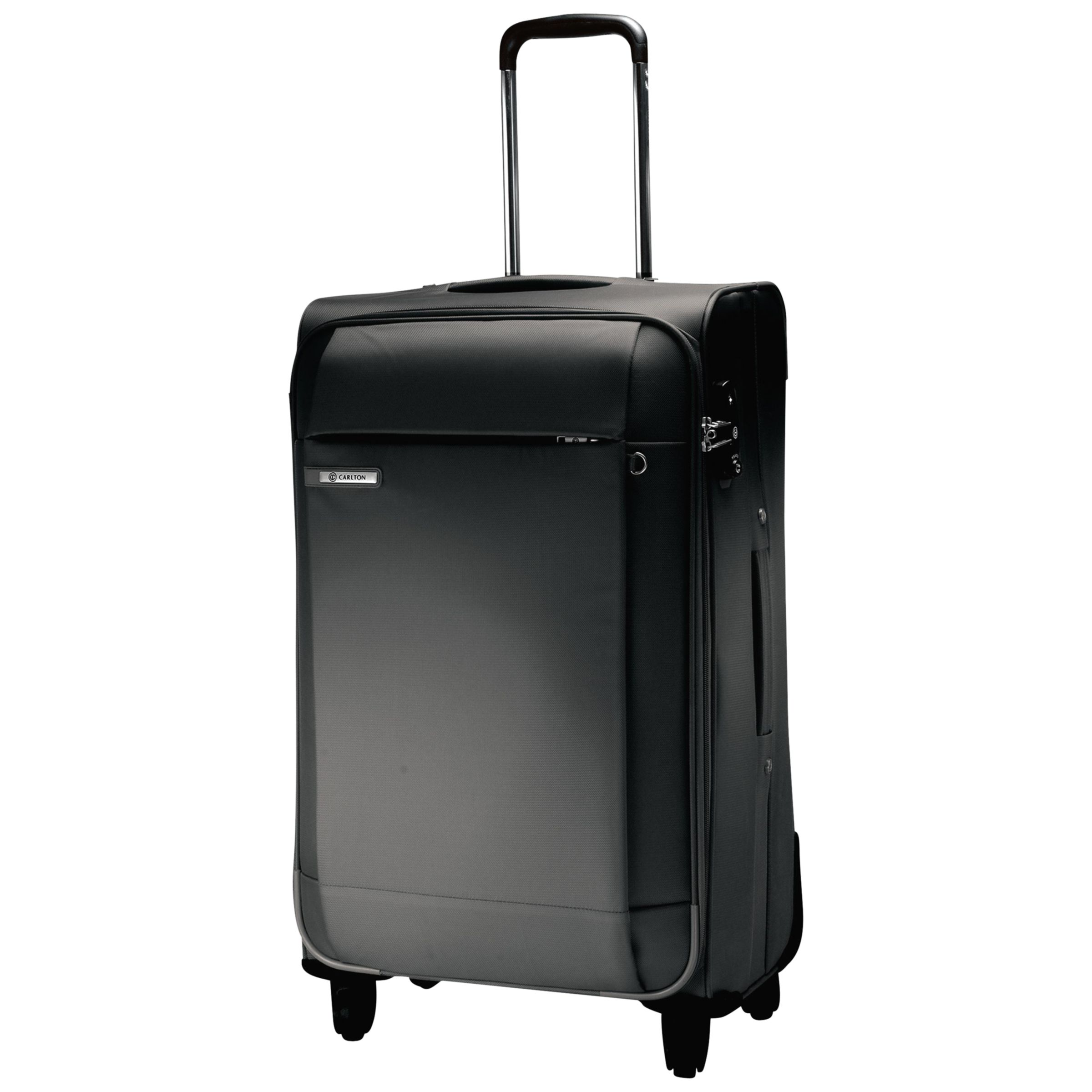 Carlton Titanium Spinner Suitcase, Black