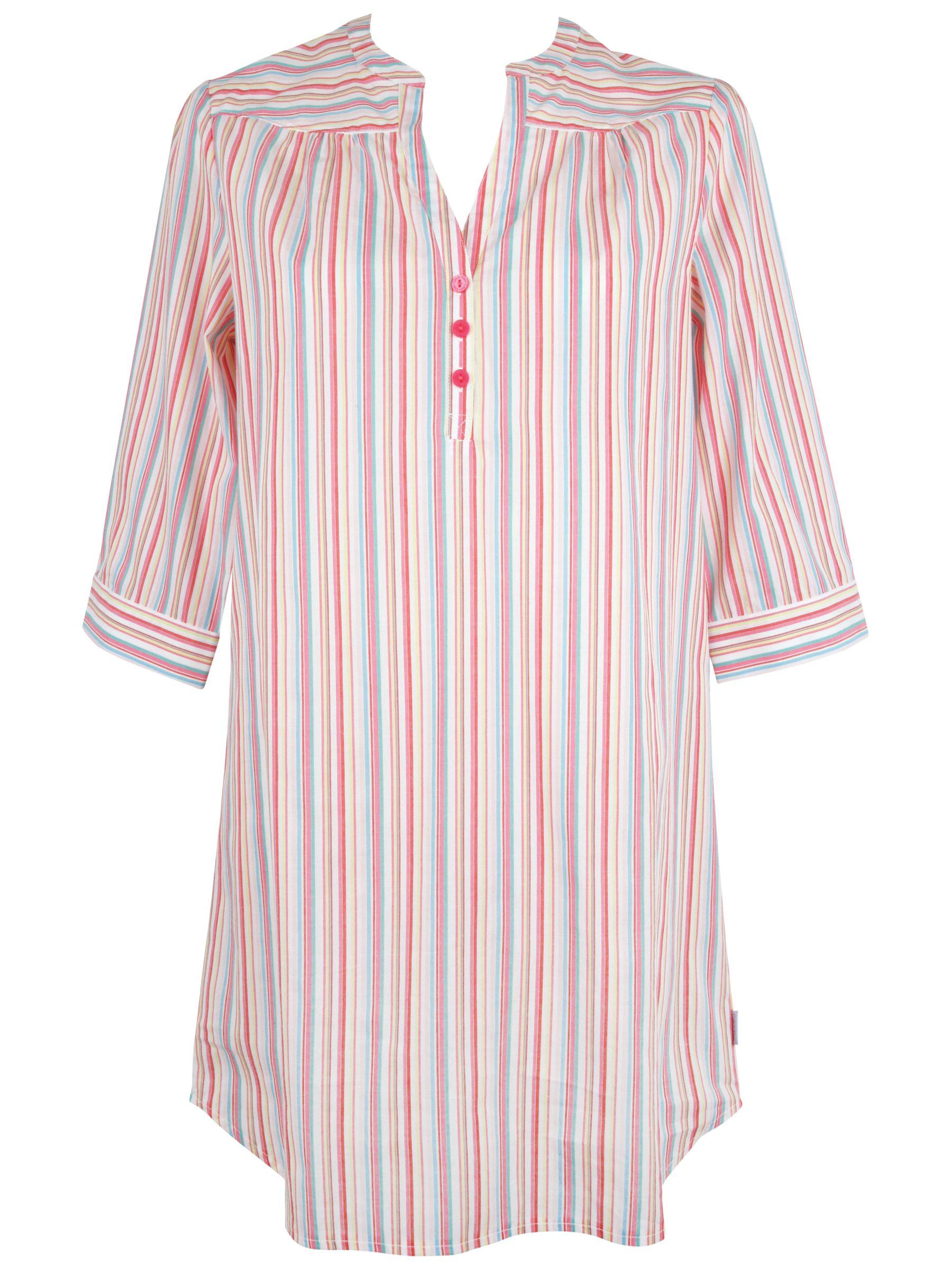 Calvin Klein Stripe Boyfriend Nightshirt, Multi
