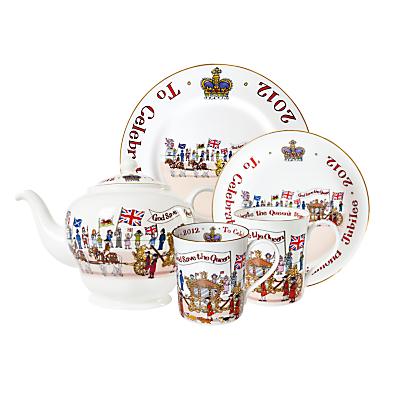 Alison Gardiner Diamond Jubilee Tableware
