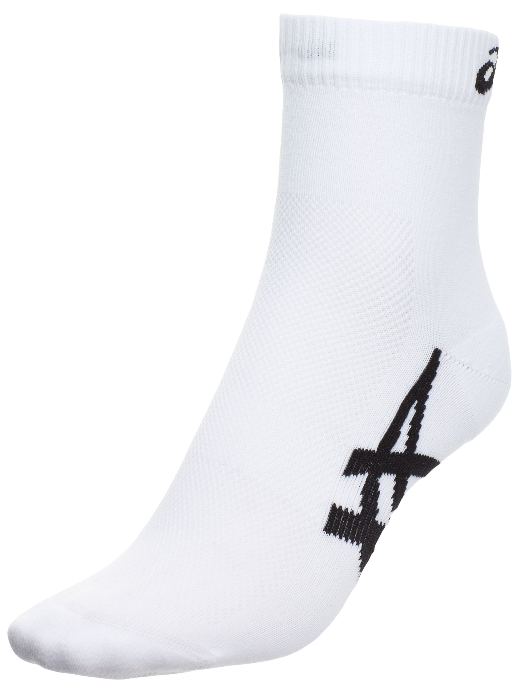 Asics 1000 Series Ankle Socks, Pack of 2, White
