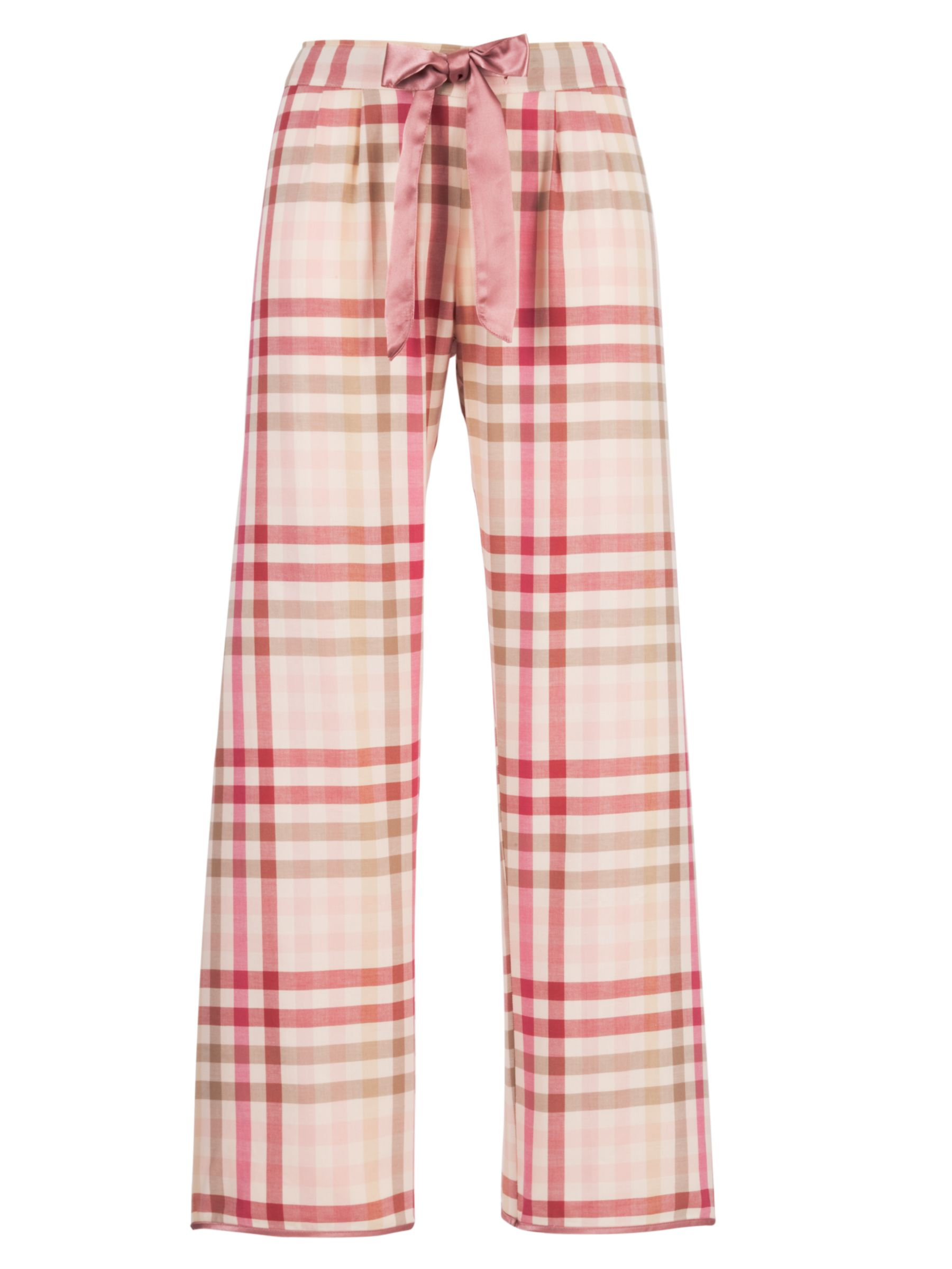 Cyberjammies Dune Check Pyjama Trousers, Rose