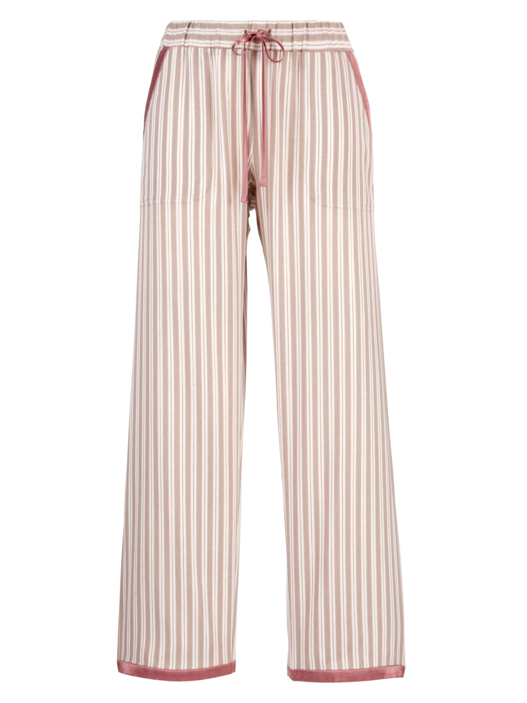 Cyberjammies Dune Stripe Pyjama Trousers, Rose