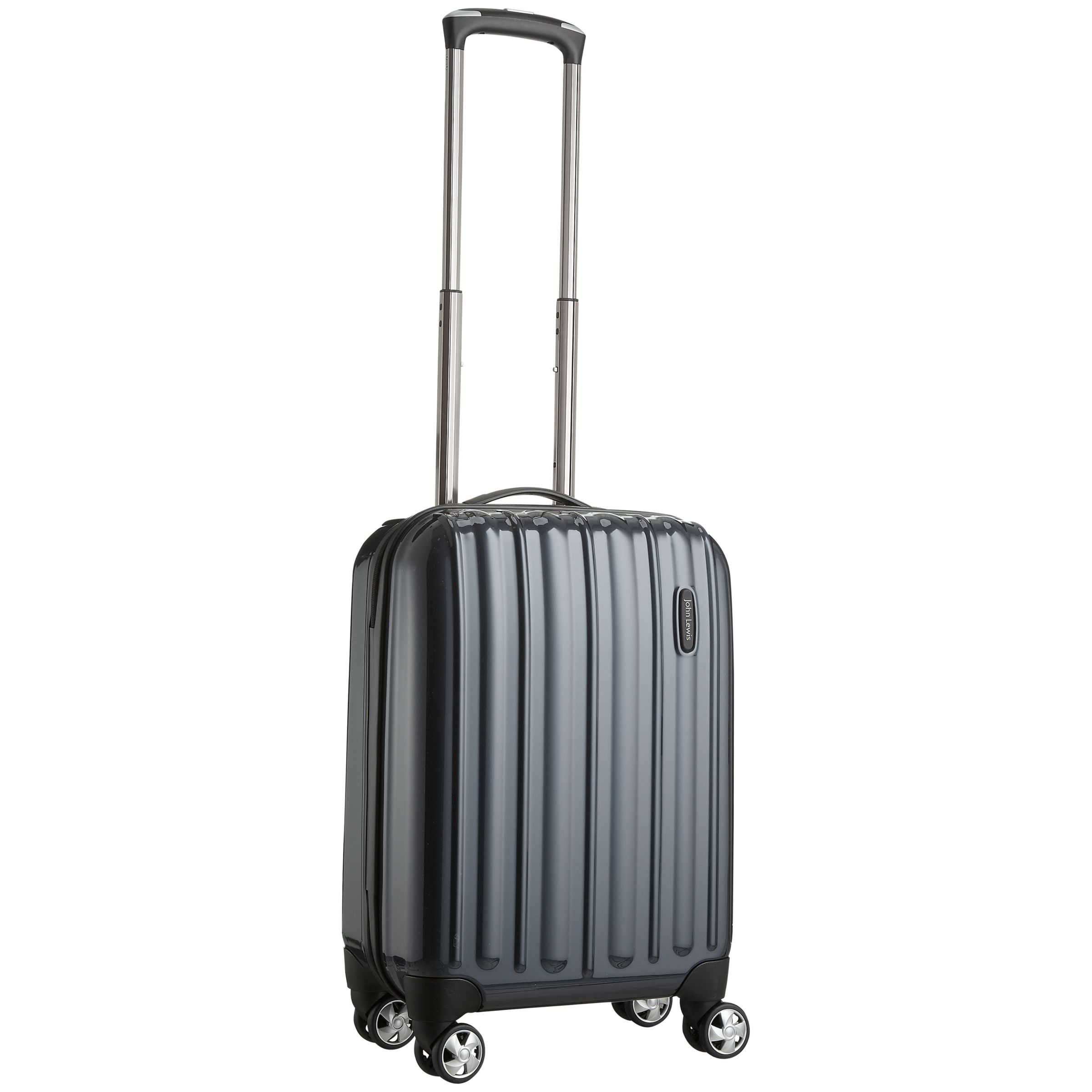 John Lewis Monaco 4-Wheel Spinner Suitcase, Teal