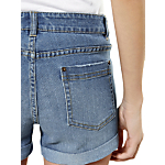 Warehouse Denim Turn Up Shorts