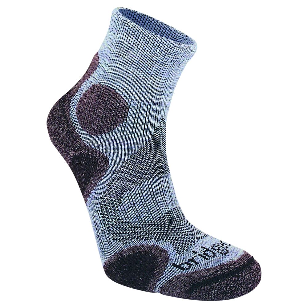 Bridgedale Women's Cool Fusion Trail Diva Socks, Heather