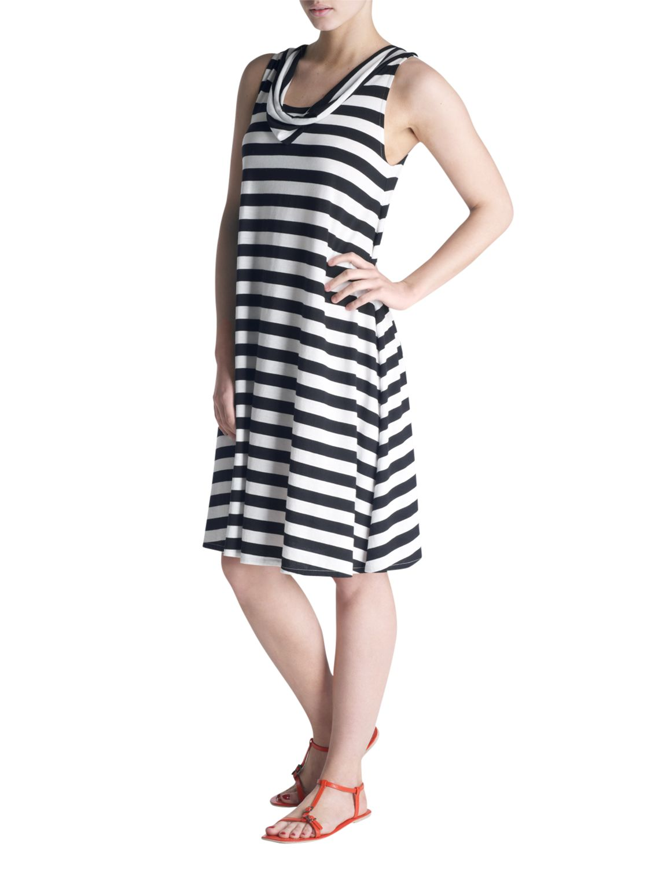 kew.159 Sleeveless Dress, Black