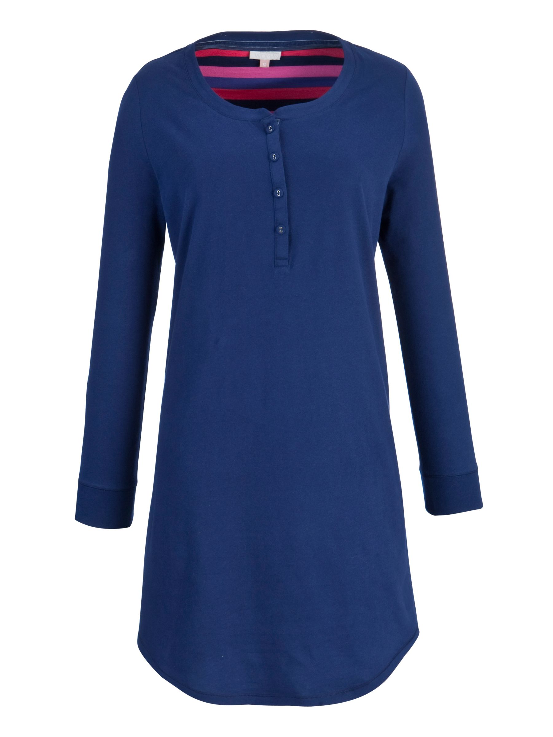 John Lewis Cosmo Nightdress, Blue
