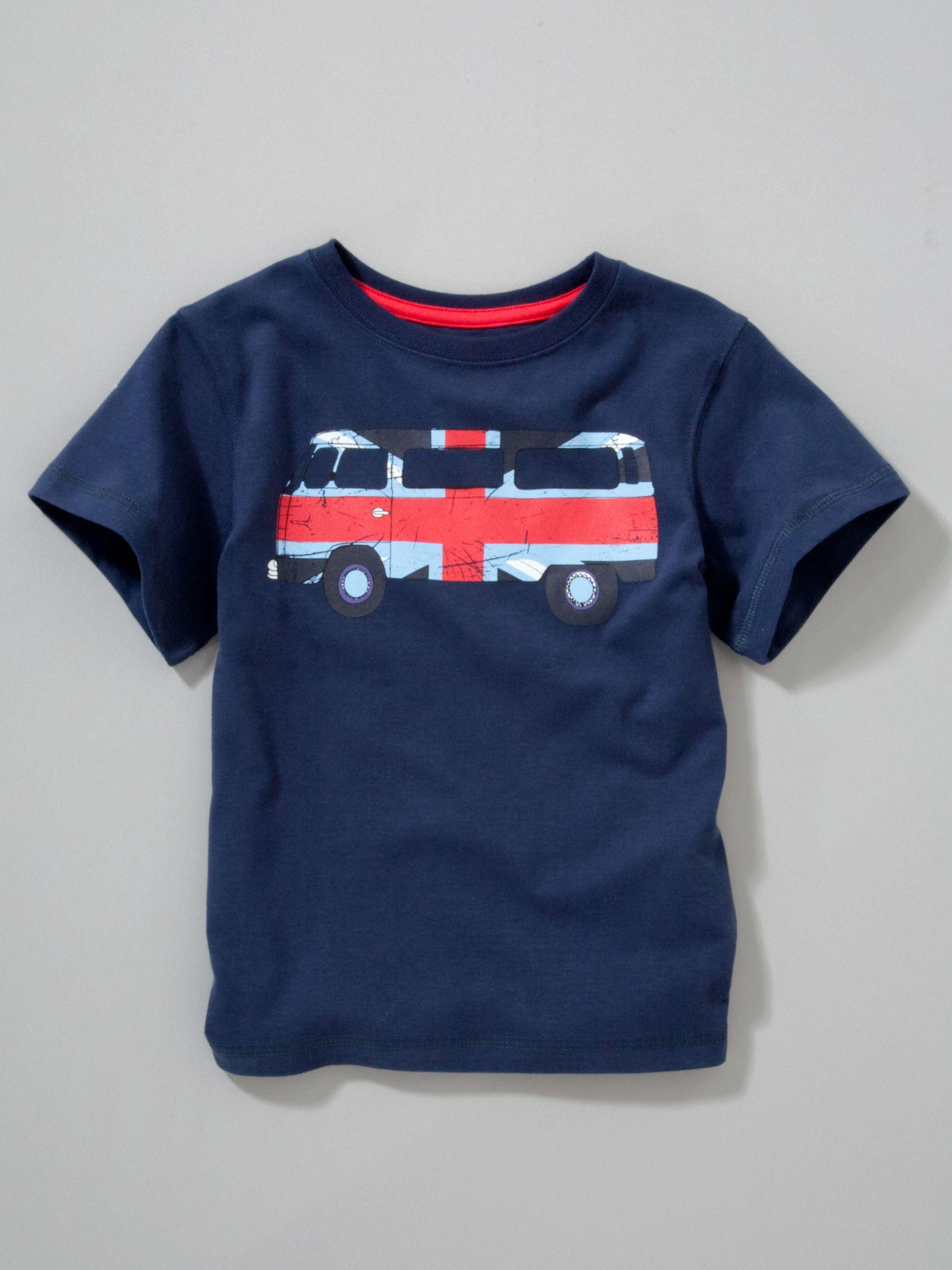 John Lewis Boy Union Jack Van T-Shirt
