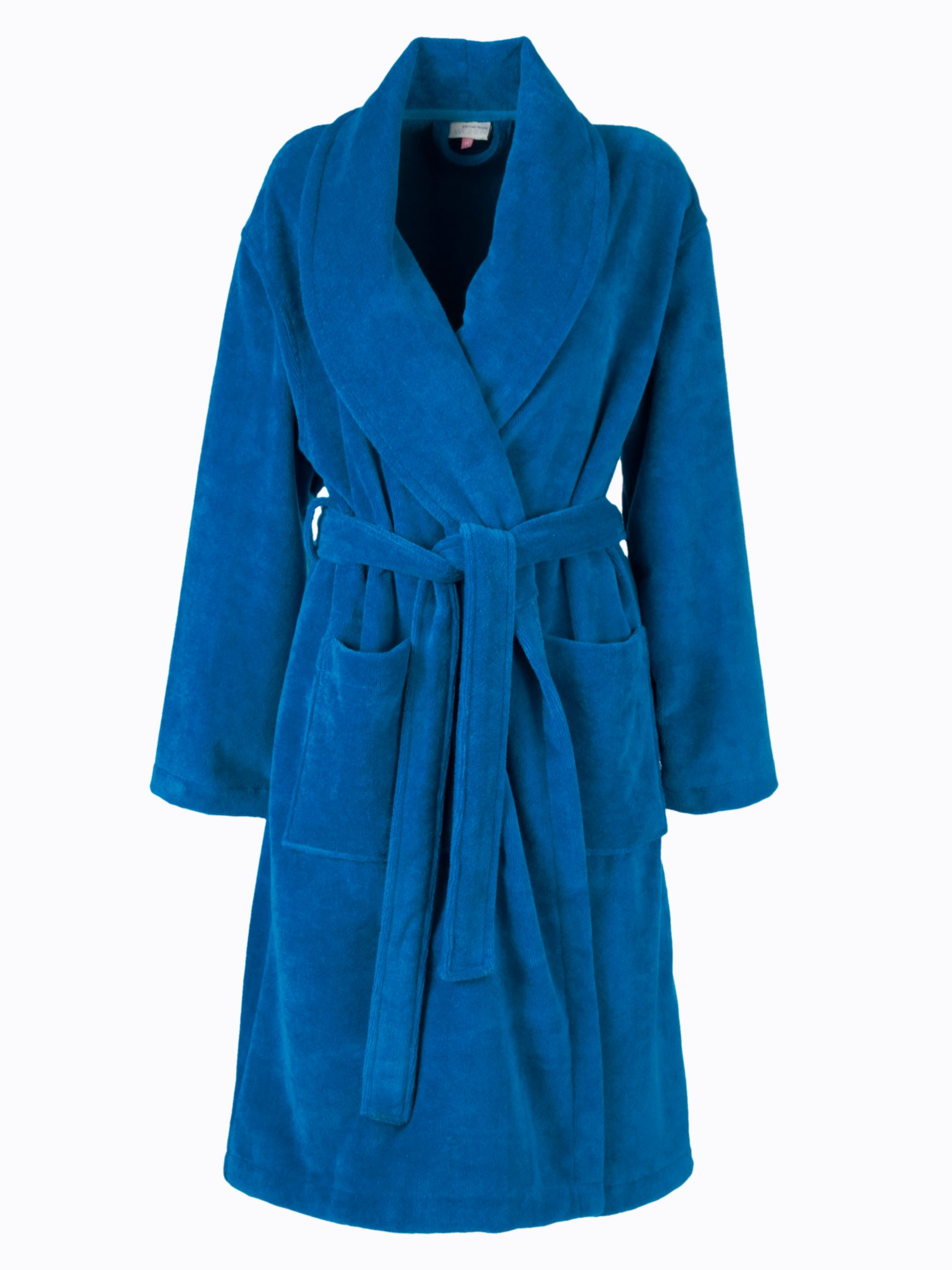 John Lewis Velour Robe, Teal