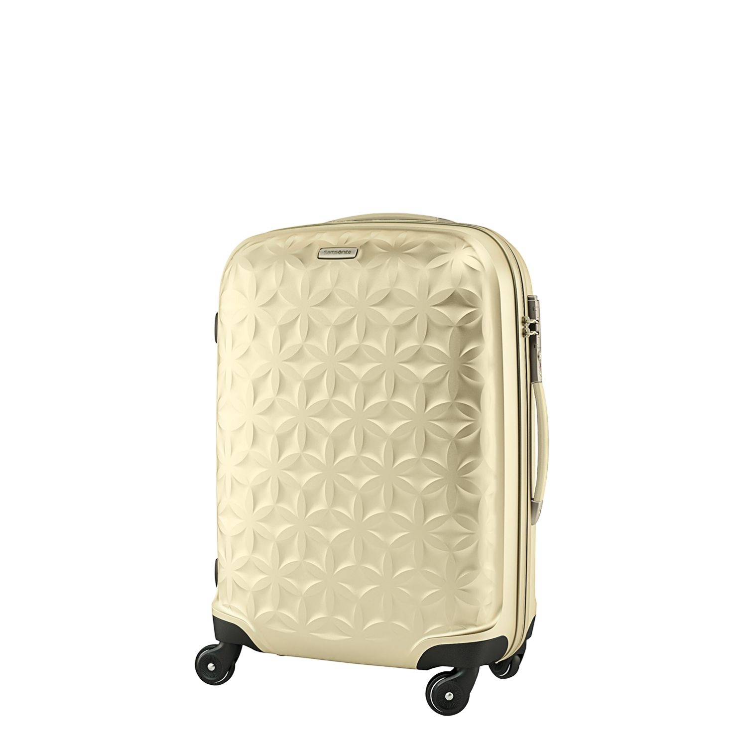Samsonite Essensis 4-Wheel Spinner Suitcase, Ivory
