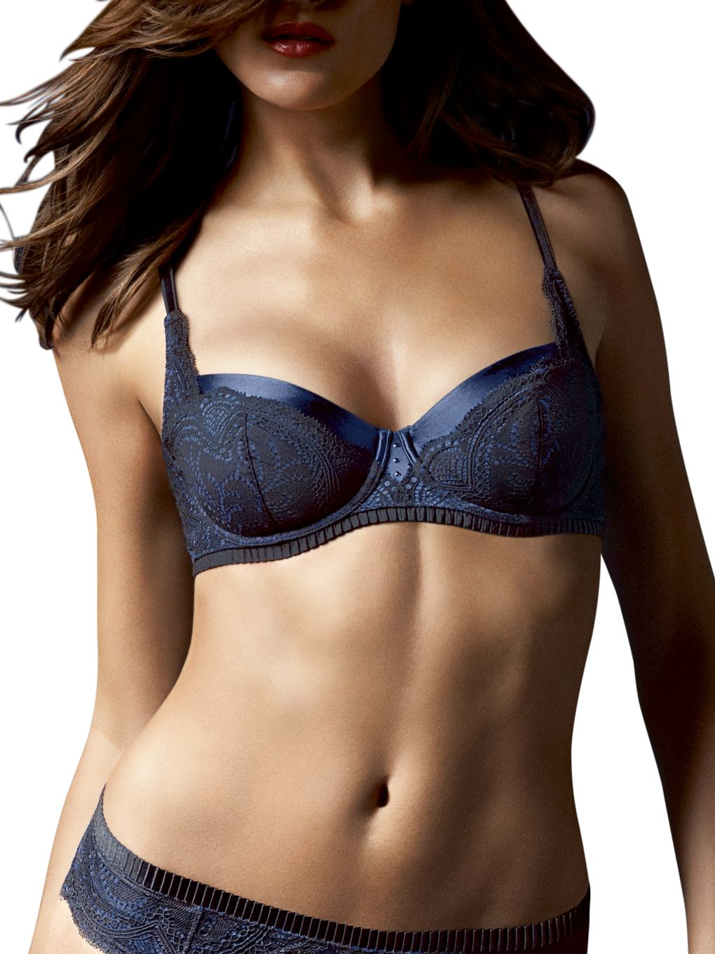 Triumph Glamorous Essence Push Up Bra, Black
