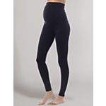 Seraphine Holi Over-Bump Maternity Leggings, Black