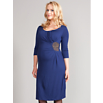 Seraphine Quin Sequin Maternity Dress
