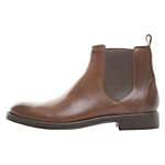 Geox Blade Leather Chelsea Boots, Brown