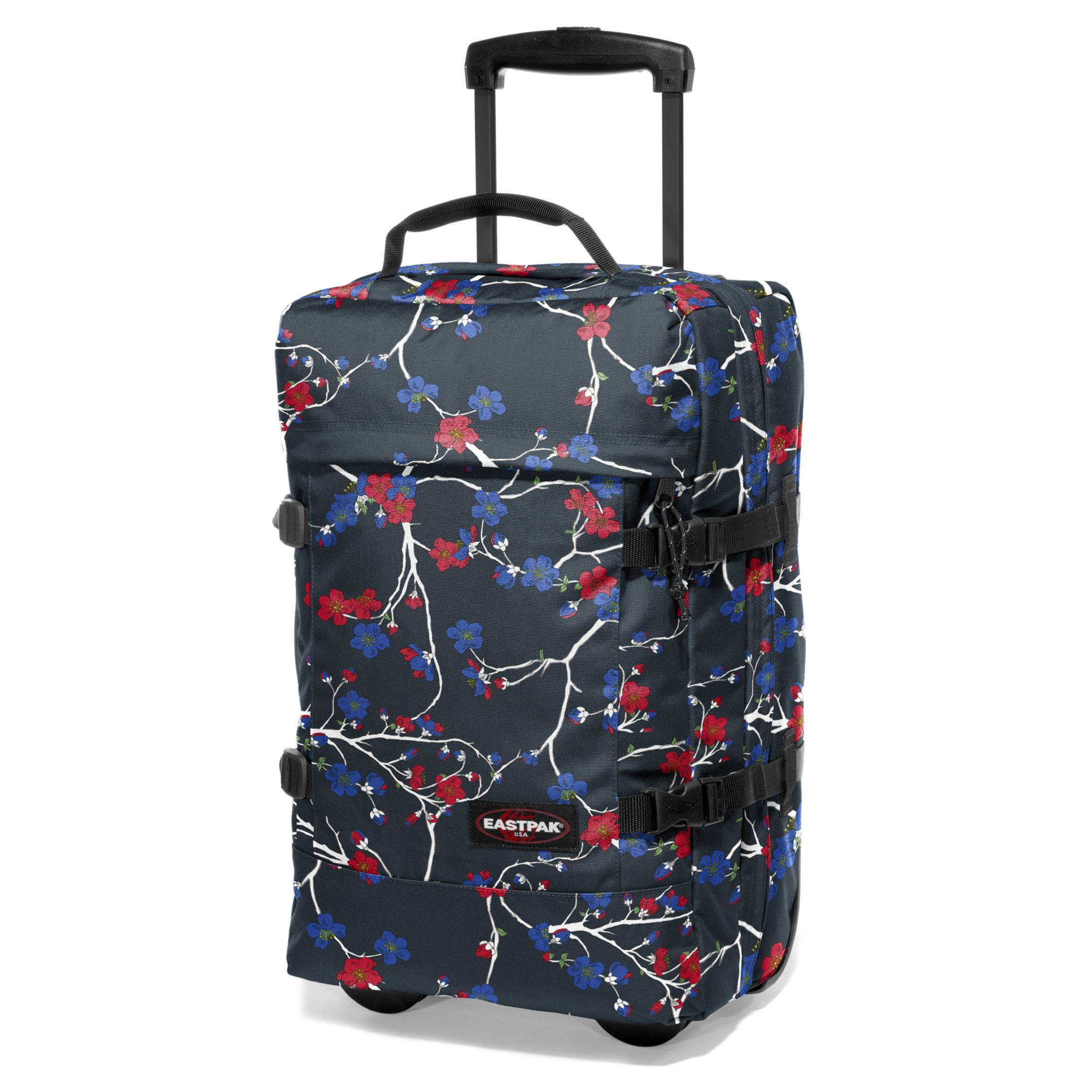 Eastpak Transfer 2-Wheel Holdall, Floral