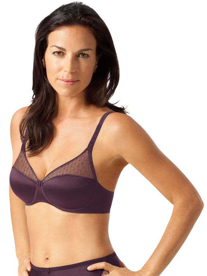 Playtex Tonique Contour Bra, Purple
