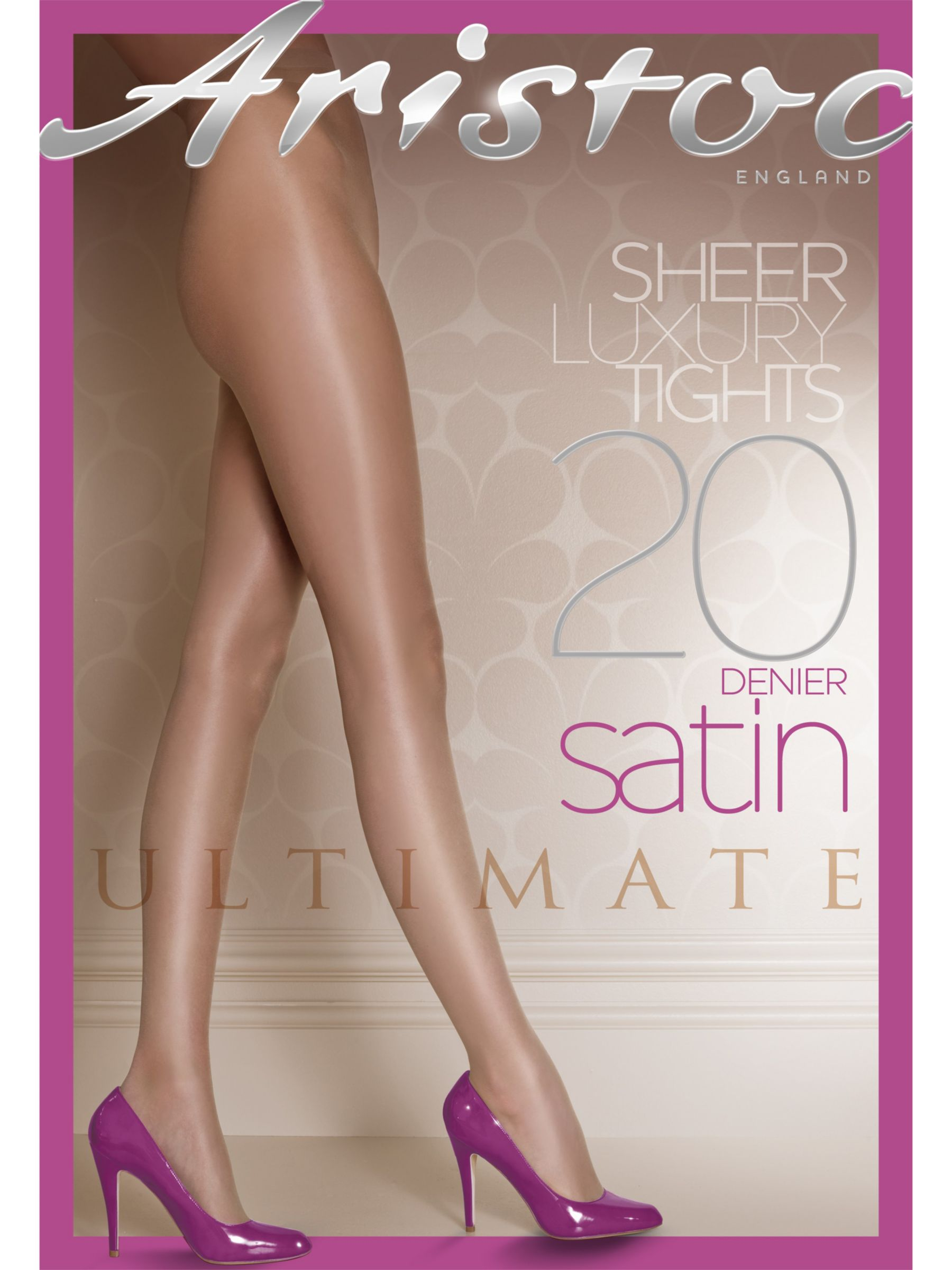 Aristoc Ultimate Satin Tights, Illusion